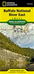 233 Buffalo National River East National Geographic Trails Illustrated