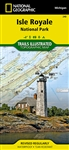 240 Isle Royale National Park National Geographic Trails Illustrated