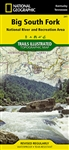 241 Big South Fork National River Recreation Area National Geographic Trails Illustrated