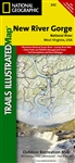 242 New River Gorge National River National Geographic Trails Illustrated