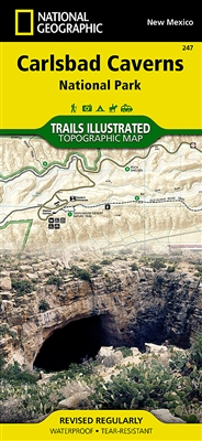 247 Carlsbad Cavern National Park National Geographic Trails Illustrated