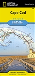 250 Cape Cod National Geographic Coastal Recreation Map