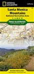 253 Santa Monica Mountains National Recreation Area National Geographic Trails Illustrated