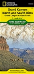 261 Grand Canyon North and South Rims Grand Canyon National Park National Geographic Trails Illustrated