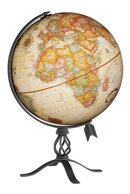 MacInnes 12 inch Raised Relief Globe