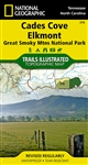 316 Cades Cove Elkmont Great Smoky Mountains National Park National Geographic Trails Illustrated