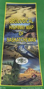 Saskatchewan Geological Highway Map