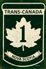 TransCanada Nova Scotia Vintage Metal Sign