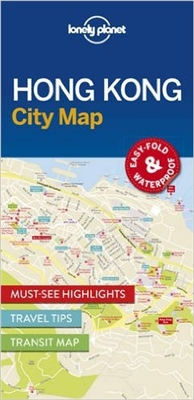 Hong Kong City Map Lonely Planet