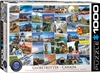 Globetrotter Canada Puzzle 1000 Pieces