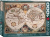 Antique World Map Puzzle 1000 Pieces