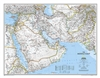Middle East Classic National Geographic Wall Map