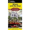 Miami and the Keys National Geographic Destination City Map