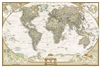 World Executive National Geographic Wall Map Poster