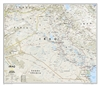 Iraq Classic National Geographic Wall Map