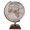 Atlantic Beige Illuminated Globe Waypoint Geographic