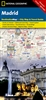 Madrid National Geographic Destination City Map
