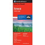 Iowa State Map Rand McNally