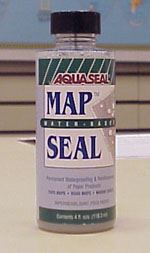 Map Sealer - Water Based 4 oz.