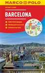 Barcelona City Map Marco Polo