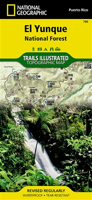 790 El Yunque National Forest National Geographic Trails Illustrated