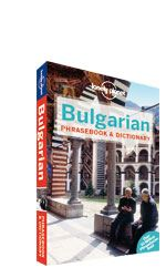 Bulgarian Phrasebook Lonely Planet