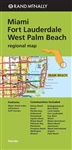 Miami Fort Lauderdale and West Palm Beach Regional Map