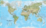 World Wall Map Environmental Large