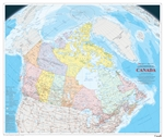Canada Political Natural Resources Canada Wall Map