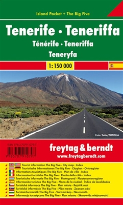 Tenerife - Island Pocket Map