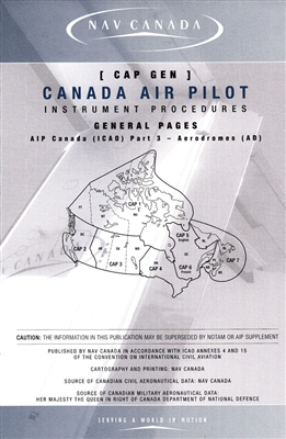 Canada Air Pilot General Pages Capgen