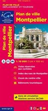 Montpellier City Plan France IGN