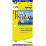106 Caen Cherbourg Octeville IGN France