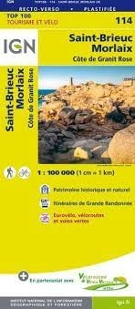 114 Saint Brieux Morlaix IGN France