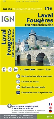 116 Laval Fougeres IGN France