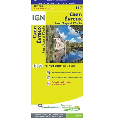 117 Caen Evreux IGN France