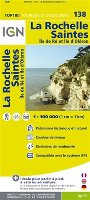 138 La Rochelle Saintes IGN France