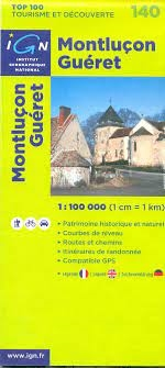 140 Montlicon Gueret IGN France