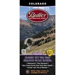 Colorado Motorcycle Map Butler