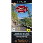 Montana Motorcycle Map Butler