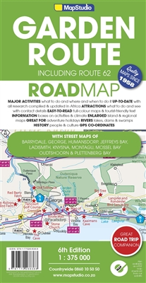 Garden Route Route 62 Map Studio