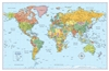 World Wall Blue Rand McNally
