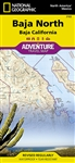 Baja North National Geographic Adventure Map