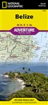 Belize National Geographic Adventure Map