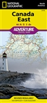 Canada East National Geographic Adventure Map