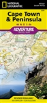 Cape Town and Peninsula National Geographic Adventure Map