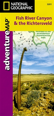 Fish River Canyon and the Richtersveld National Geographic Adventure Map