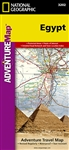 Egypt National Geographic Adventure Map