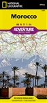 Morocco National Geographic Adventure Map