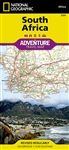South Africa National Geographic Adventure Map